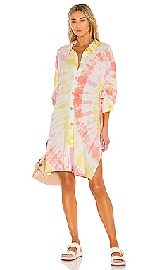 Seaside Coverup Electric & Rose $258