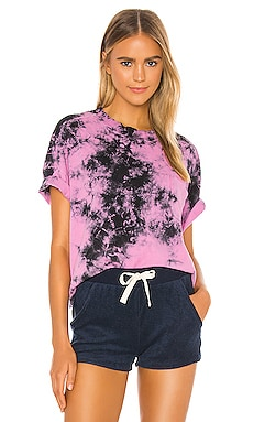 State Pocket Tee Electric & Rose $88