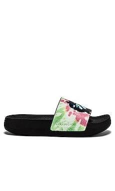 SANDALIAS TIE DYE Electric & Rose $65