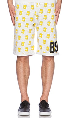 Eleven Paris Hart BSK Shorts in Olhart Print
