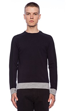 Eleven Paris Kimple Sweater in Navy