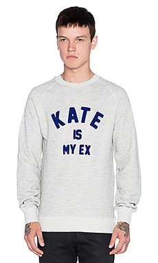 Eleven Paris Fakate SW Pullover in Mel. Lt. Grey