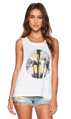 Eleven Paris Gold Digger Tank in White