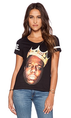 Eleven Paris Biggie Tee in Black