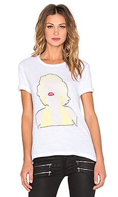Eleven Paris Blank Marilyn Monroe Tee in White