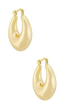 BOUCLES D'OREILLES CRÉOLE BOWERY Electric Picks Jewelry 80,00€