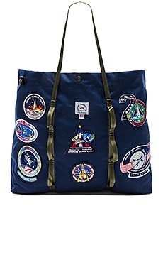 Vintage NASA Patch Large Tote