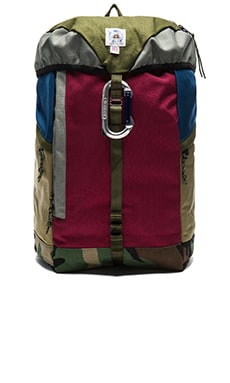 Epperson Mountaineering Large Climb Pack in Moss & Bordeaux