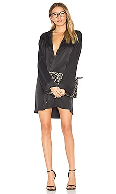 Kate Moss for Equipment Terah Dress in True Black