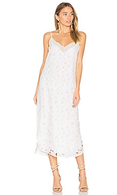Dian Dress in Bright White