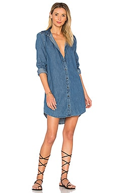 Carmine Denim Dress