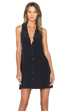 Equipment Mina Dress in True Black