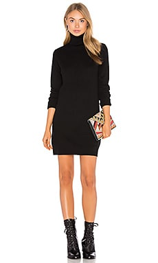 Oscar Cashmere Dress in Black