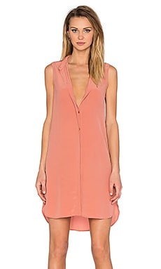 Lanie Sleeveless Dress in Desert Sand
