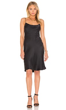 Equipment Kate Moss for Equipment Jessa Slip Dress in True Black