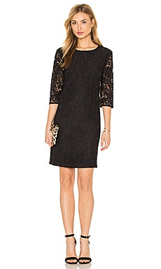 Equipment Aubrey Lace Dress in True Black
