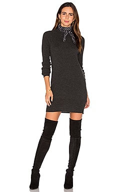 Equipment Willy Mini Sweater Dress in Charcoal Heather