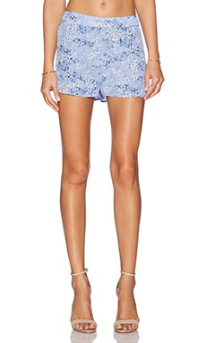 Equipment Landis Floral Camo Short in Amparo Blue Multi