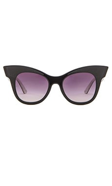 Equipment The Audrey Sunglasses in Grey Gradient & Black