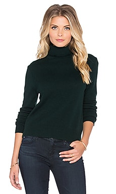Equipment Atticus Cashmere Classics Turtleneck in Scarab
