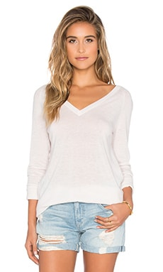 Asher V-Neck Sweater in Picasso