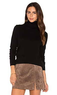 Oscar Turtleneck Sweater in Black