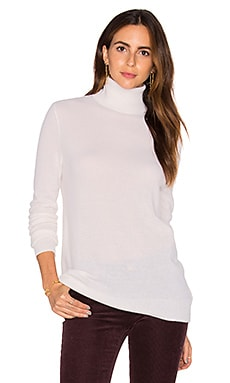 Equipment Oscar Turtleneck Sweater in Ivory