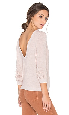 Calais V Back Sweater