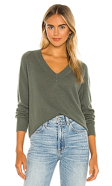 Madalene V Neck Sweater Equipment $295 NEW