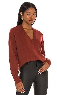 Madalene V-Neck Sweater Equipment $295 NEW