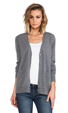 Equipment Sullivan Cardigan in Heather Grey