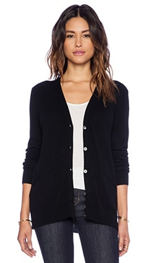 Equipment Sullivan Cardigan in Black