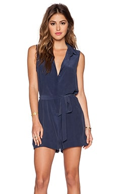 Equipment Sleeveless Earl Romper in Peacoat
