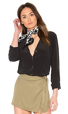 Equipment Adalyn Blouse in True Black