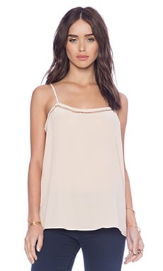 Equipment Cara Embroidery Stitch Cami in Nude