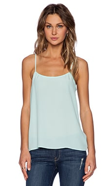 Equipment Cara Vintage Wash Cami in Spearmint