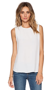 Equipment Lyle Tank in Bright White
