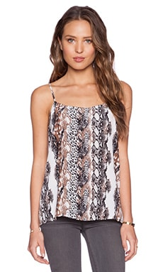Equipment Cara Cami in Bright White Multi