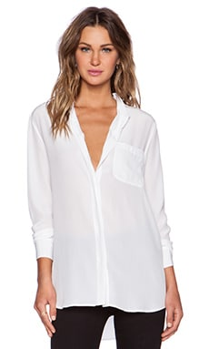 Equipment Langston Blouse in Bright White