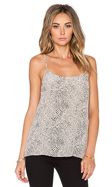 Equipment Animal Printed Cara Cami in Nude