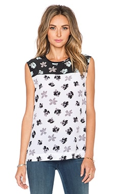 Equipment Moonlit Petunia Kyle Tank in Bright White