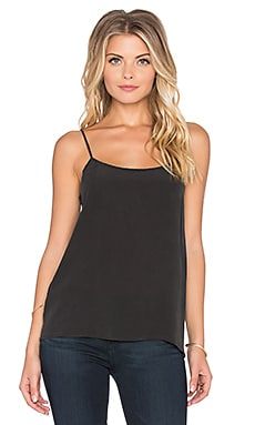 Equipment Cara Super Vintage Washed Cami in Black