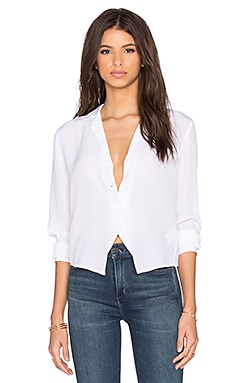 Equipment Gabrielle Super Vintage Button Up in Bright White