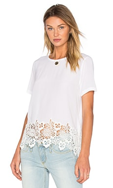 T-shirt Riley en Bright White