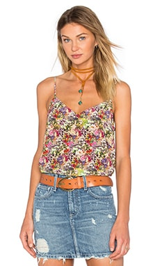 Layla Floral Cami in Happy Pink Multi