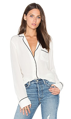 Kelra Button Up en Blanc