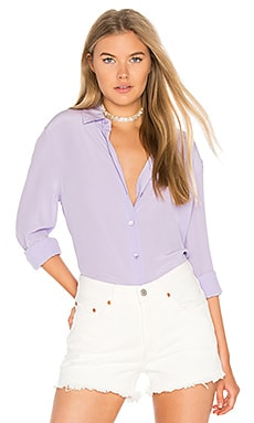 Essential Button up in Wisteria