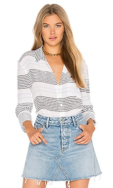 Reese Striped Button Up
