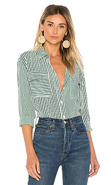 Signature Stripe Button Up