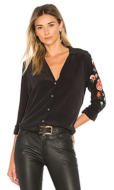 Adalyn Embroidered Button Up